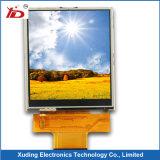 文字陰性が付いている器械LCDの表示