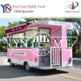 Fast food do gelado que janta o caminhão