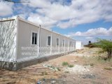 Casa del envase de la comodidad de África