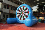 Tarjeta de dardo inflable del fútbol del Velcro gigante Chsp521