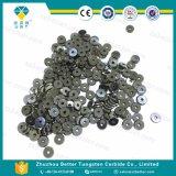 Cortador redondo de cristal del azulejo del carburo de tungsteno