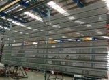 Feuille en aluminium perforée d'onde pour l'écran de façade