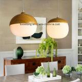 Lamp van de Tegenhanger van Indecoration de Moderne met Houten Kleur voor Koffiebar