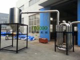 Planta de recicl plástica do frasco do animal de estimação automático com GV do CE