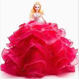 Мода пластиковые куклы с красивыми свадебные платья