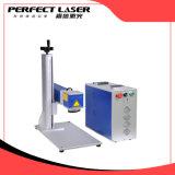 Machine portative d'inscription de gravure de laser des textes de logo de plaque signalétique en métal