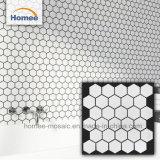 De Glanzende Hexagon Tegel van uitstekende kwaliteit van het Mozaïek van Kithchen Backsplash Ceramische
