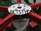 generatore di turbina verticale del vento di asse di 200W 12V24VDC da vendere l'indicatore luminoso