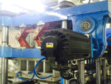 Drei vier Station PlastikThermofomring Maschine für die Behälter-Herstellung