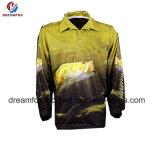 適当で長い袖釣ワイシャツのカスタムトーナメント釣服装を乾燥しなさい