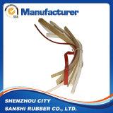 Striscia termoresistente della guarnizione della gomma di silicone