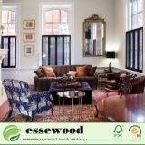 O PVC decorativas interiores ou exteriores de obturador da janela