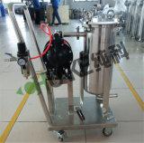 Het Type van Karretje van de Huisvesting van de Filter van de Zak van het Staal van Stailess van Chunke