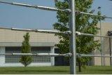Acero inoxidable 304 diseños del balaustre con los sostenedores de la barra cruzada de los Ss
