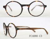 Frame ótico do Eyeglass Polished de madeira redondo da cor quatro