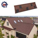 Каменной плиткой на крыше Nosen металла с покрытием
