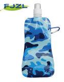 Складной пластичный мешок питьевой воды с взбираясь кнопкой Carabiner