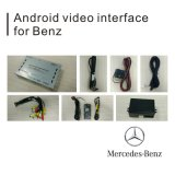 Video interfaccia di GPS della casella Android di percorso per lo schermo Waze Youtube WiFi Bluetooth del getto del codice categoria W211 di Mercedes-Benz E