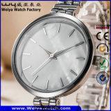 Wristwatch повелительниц нержавеющей стали способа ODM вскользь (WY-P17001A)