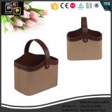 Кожаный чехол классический оптовой упаковке для хранения корзину (5412)