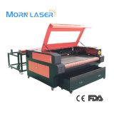Prix de machine de découpage de laser de CO2 de tissu