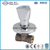 Válvula de parada de latón caliente de Venta