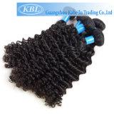 Cheveu bouclé profond brésilien de Vierge de 100% (KBL-BH-CW)