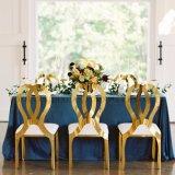 Стул Valentino золота нержавеющей стали изготовления Foshan или золота Rose для свадебного банкета