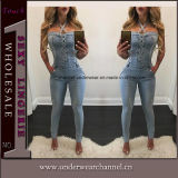 Sexy Skinny синие джинсы джинсовые комбинезоны Jumpsuit Playsuit (TOSM4010)