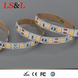 Ce 60LEDs/M, 14.4W, 5m/Roll da luz de 5050 Ledstrip & RoHS