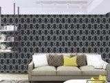 O PVC moderna decoração em relevo o papel de parede profunda com alta qualidade