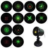 O Jardim mais quentes de luz de laser Firefly estático para o Natal de piscina