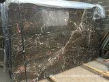 St Laurent losas de mármol negro Mosaico y el suelo