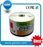 La fabbrica 50PCS all'ingrosso Shrinkwrap il pacchetto 16X a un solo strato DVDR in bianco