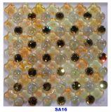 300X300mmの壁のための贅沢なクリスタルグラスのモザイク