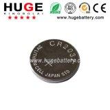 3V de batterij Cr2032 van de Cel van de Knoop van het Metaal van het 240mAhLithium