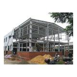 Gruppo di lavoro prefabbricato della struttura d'acciaio del magazzino della struttura d'acciaio