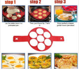 Nueva molde frito del huevo del silicón de la crepe de la cocina de la cocina Sy05-01-005 herramienta