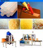 Прилипатель клея Melt сырья ЕВА прозрачный горячий для запечатывания картонной коробки коробки