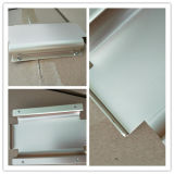 Fabricación de lámina metálica de aluminio caja metálica de acero inoxidable perforado