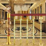 Корпус из нержавеющей стали Luxury Villa Hotel лестница Guardrail Crystal рулевой колонки
