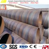 Tubulação de aço de SSAW/câmara de ar soldadas espirais para o petróleo e o gás