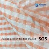 De Polyester van uitstekende kwaliteit voegt Nylon Organza voor de Kleding van Vrouwen, 73GSM toe
