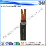 Силовой кабель обшитый PVC Armored