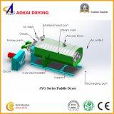 Tipo máquina de secagem da operação contínua da pá da cavidade para a lama