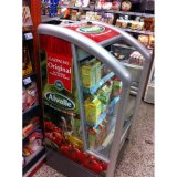Supermarkt-kommerzielle Getränk-Bildschirmanzeige-Kühlraum-Schaukasten-Kühlvorrichtung