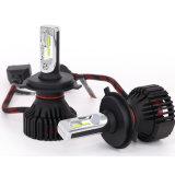 Éclairage LED automatique de la lampe 60W du véhicule DEL de l'éclairage LED 6500K du nécessaire 8000lm de phare des pièces d'auto T8 H4 DEL