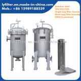 Tipo fábrica de la abrazadera del cárter del filtro de agua del bolso del acero inoxidable de los Ss para el uso químico