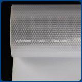 Impressões personalizadas publicidade exterior Reflective Honeycomb Material adesivo branco prateado