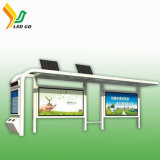 Usine de Guangdong l'énergie solaire LED de l'arrêt de bus